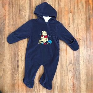 Disney Hooded Romper unisex 6/9 month